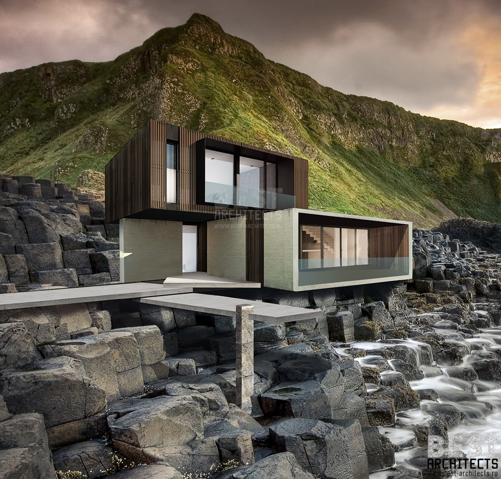Дом на море (архитектор Илья Экономов) квадрат